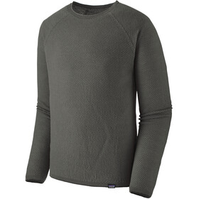 Patagonia Capilene Air Long-Sleeved Crew Shirt Men, forge grey/feather grey x-dye